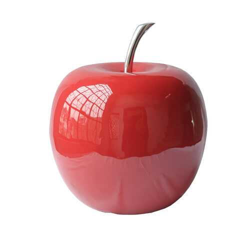 "10"" x 10"" x 11"" Buffed & Red, Extra Large - Apple"
