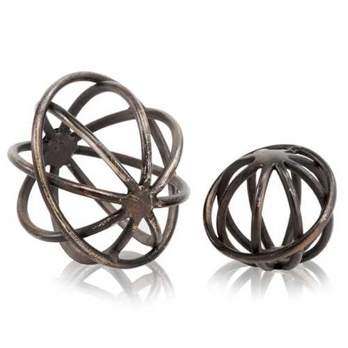 "6"" x 6"" x 5"" Bronze - Small Sphere"