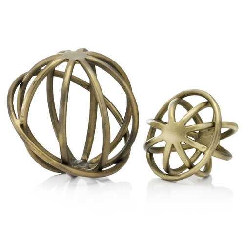 "6"" x 6"" x 5"" Bronze/Gold -  Small Sphere"