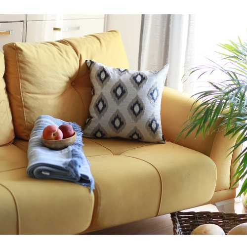 """17""""x 17"""" Jacquard Chic Decorative Throw Pillow Cover"""
