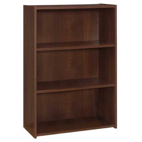 "11.75"" x 24.75"" x 35.5"" Cherry, 3 Shelves - Bookcase"