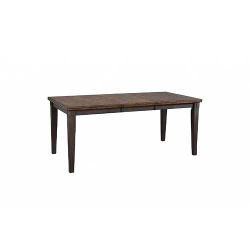 "36.25"" X 54"" X 30"" Two-Tone Hardwood Dining Table"