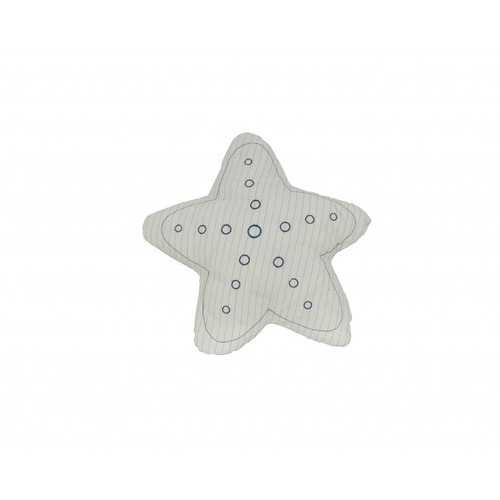 "12"" x 12"" x 4.5"" White, Blue, Star - Pillow"