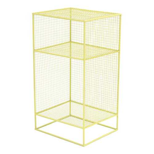 "13.8"" x 11.8"" x 25.2"" Green, Steel, Shelf"