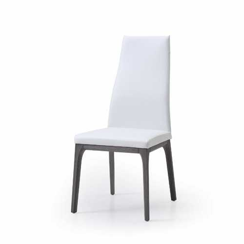 """20"""" X 25"""" X 42"""" pure Faux Leather or Metal Dining Chair"""