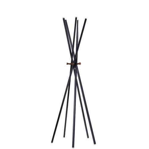 "23.5"" X 23.5"" X 66.5"" Black  Coat Rack"