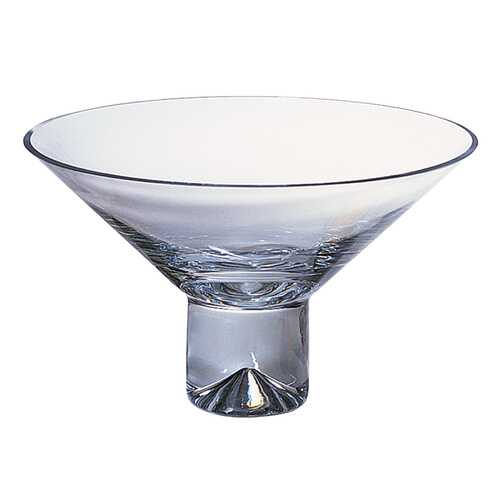 "11"" Mouth Blown Crystal Centerpiece or Fruit Bowl"