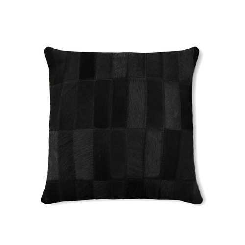 "18"" X 18"" X 5"" Black Pillow"