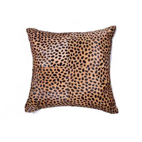 """18"""" X 18"""" X 5"""" Cheetah Quattro Pillow"""