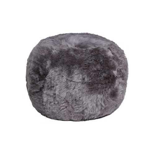 """14"""" X 14"""" X 11"""" Brisa Short-Hair Sheepskin Floor Cushion"""