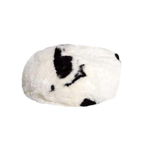 """31"""" X 31"""" X 31"""" Spotted Short-Hair Sheepskin Bean Bag"""