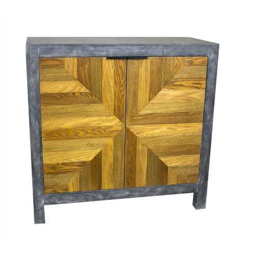 Fantastic 2 Door Cabinet, Gray