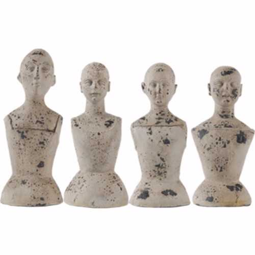 Artistically Ornate Set Of 4 Mannequins