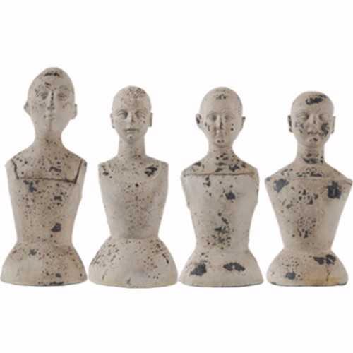 Artistically Ornate Set Of 4 Mannequins