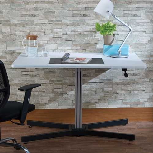 Astonishing Writing Desk With Lift Top, White