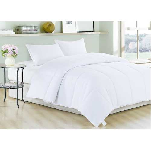 "88"" X 88"" King White Polyester Medium Warmth Down Comforter Duvet Insert"