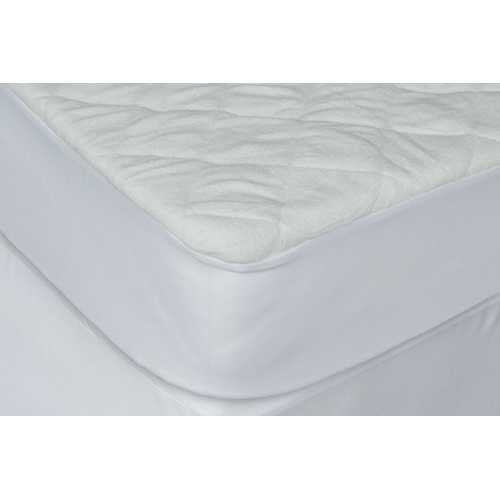 "5"" Waterproof Bamboo Terry Crib Mattress With Pad Liner"