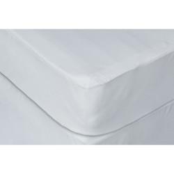 Full White Waterproof Hypoallergenic Polyester Premium Mattress Protector