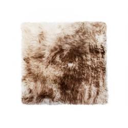 "17"" x 17"" Gradient Chocolate, Sheepskin - Seat/Chair Cover"