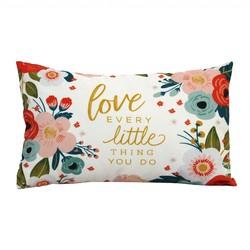"""""""Love Every"""" Lumbar Pillow"""