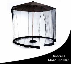 Mesh Mosquito Screen Canopy for up to 9' Patio Umbrella