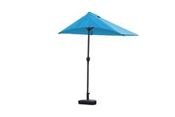 9' Aqua Outdoor Side Wall Umbrella