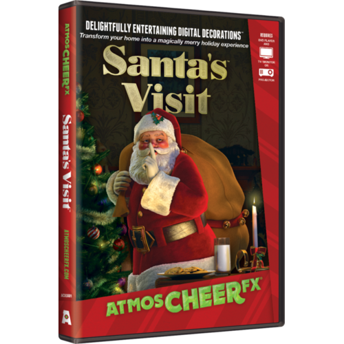 AtmosCHEERfx Santa Visit Holiday Digital Decorations
