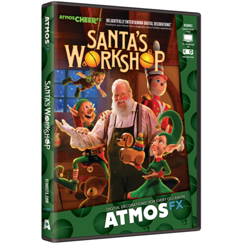 AtmosFX Santa Workshop Digital Decoration