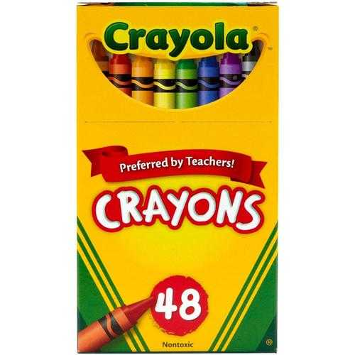 Crayola Crayons Assorted Colors Non-Peggable