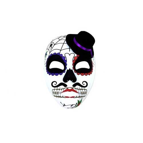 Kbw Day of the Dead Full Mask Top Hat