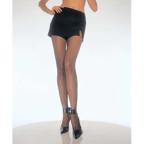 Leg Avenue Womens Plus-Size Fishnet Pantyhose Plus Black