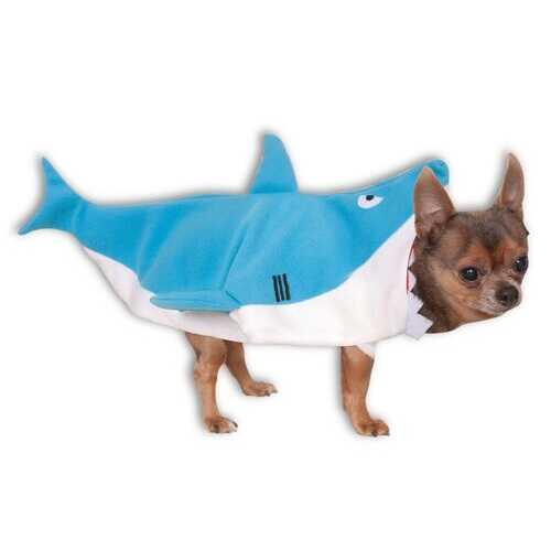 Shark Pet Jacket Costume Meduim