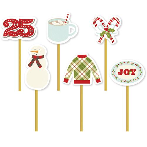 Collection Classic Christmas Decorative Clips