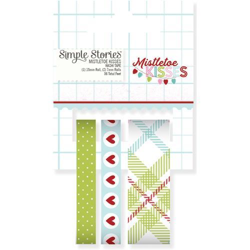 7442 Mistletoe Kisses Washi Tape