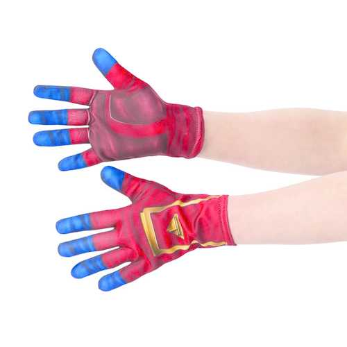 Captain Marvel Child'S Costume Accessory Gloves Red/Blue