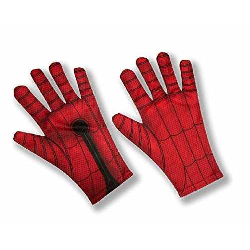 Marvel Spider-Man Far From Home Adult Costume Gloves Black/Red
