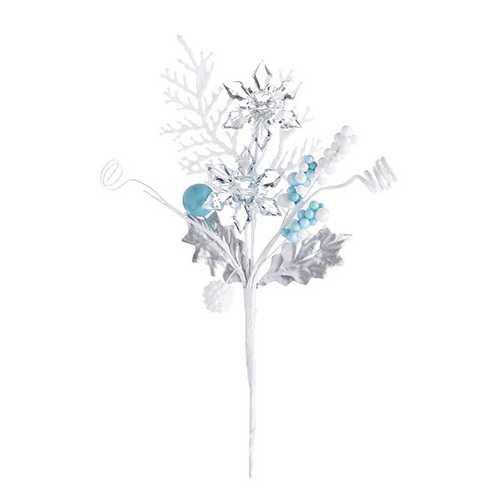 Christmas Crystal Pick Snowflake