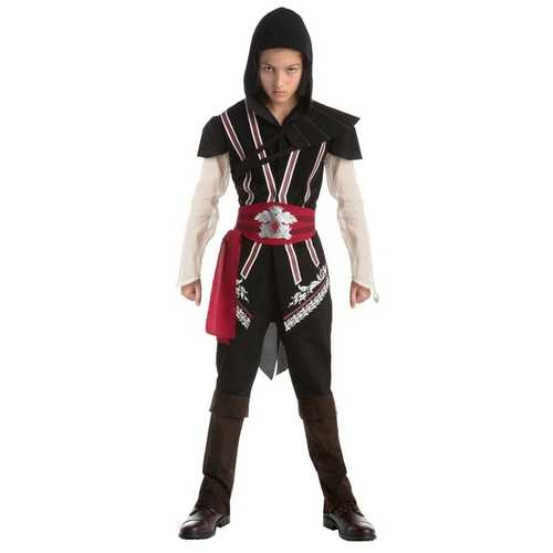 Assassins Creed Ezio Audi-Re Classic Game Teen Costume Size Large (12 -14)