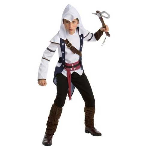 Assassins Creed Connor Classic Game Teen Costume Size X Large (14 - 16)