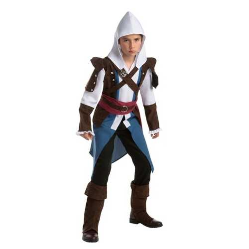 Assassins Creed Edward Kenway Classic Game Teen Costume Size Large (12 - 14)