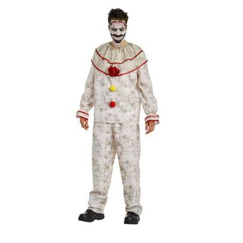 Men'S American Horror Story Freak Show Twisty The Clown Costume Medium