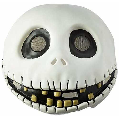 Men'S The Nightmare Before Christmas Jack Skellington Latex Mask
