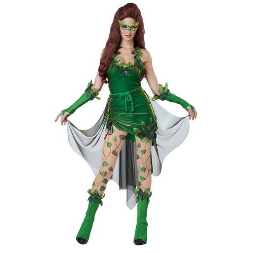 California Costumes Women's Eye Candy Lethal Beauty Adult Green Medium
