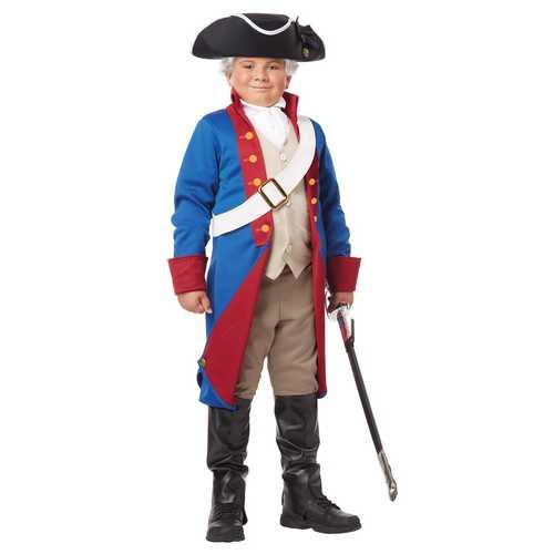California Costumes American Patriot Child Costume Large