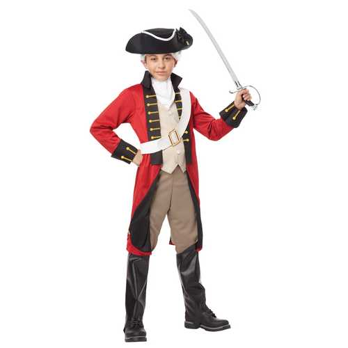 California Costumes British Redcoat Child Costume large