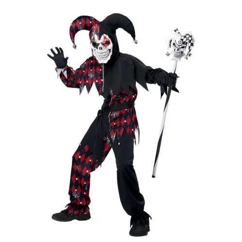 California Costumes Sinister Jester Costume One Color Medium