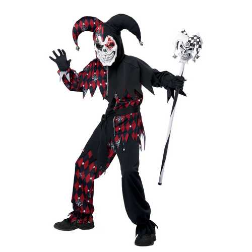 California Costumes Sinister Jester Costume One Color Extra Large