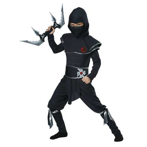 California Costumes Ninja Warrior Child Costume Medium