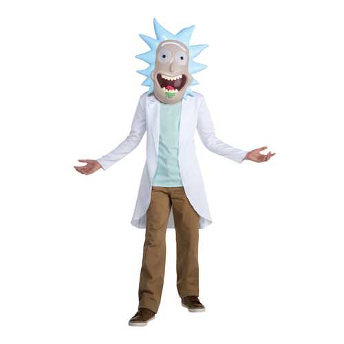 Adult Rick And Morty Rick Costume X-Large 14-16