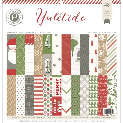 Yuletide Collection Christmas 12 x 12 Paper Pad